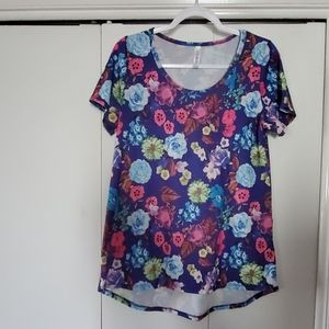 Lularoe Flowered Shirt